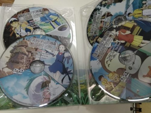 Studio Ghibli  Movies Collection Complete – Childhood Movies That You Will Love (24 movies DVD & Bluray) photo review